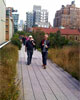 Hiking the High Line of New York City